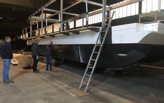 Bootsbau in Lothringen