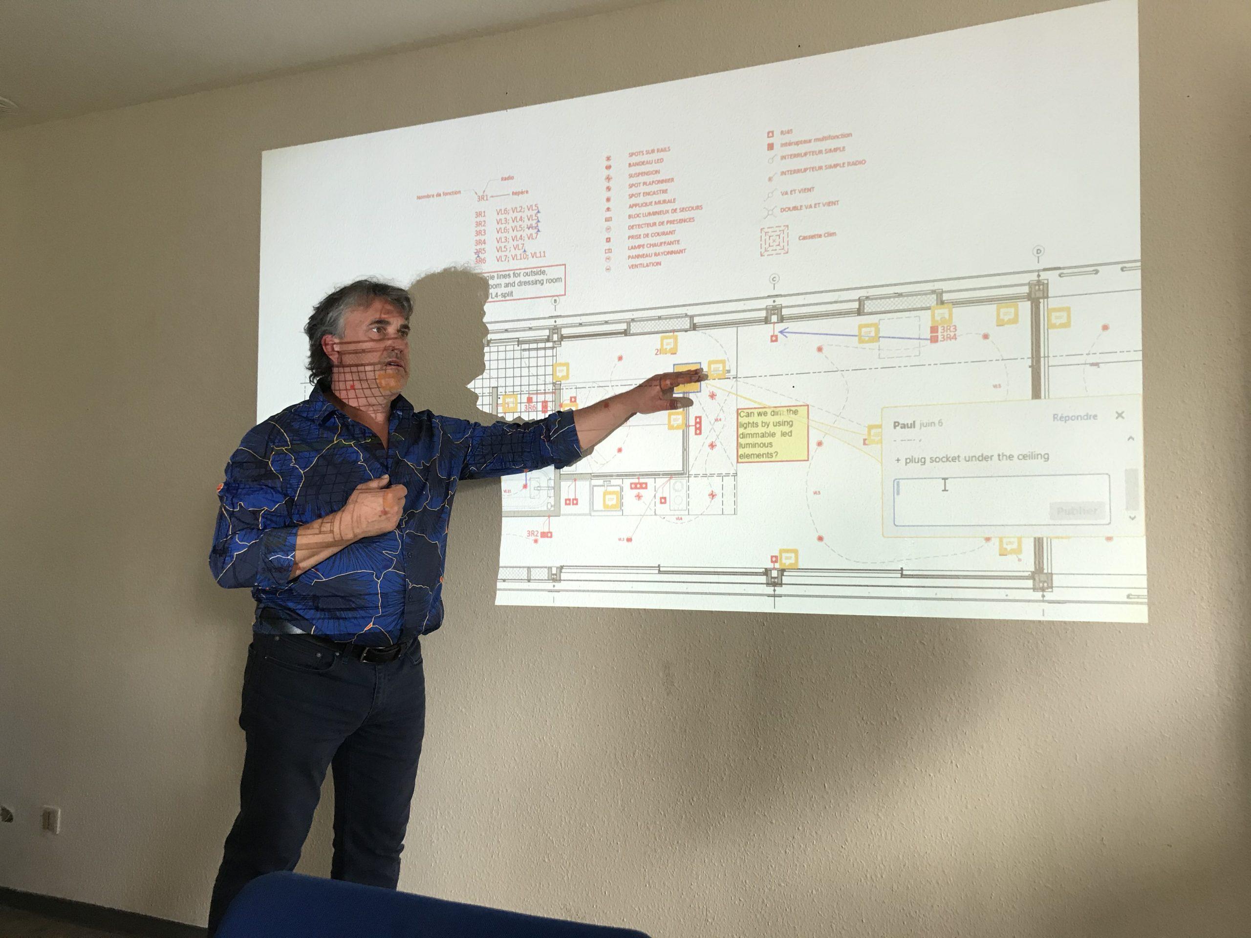 Detailplanung für den FLOATING WORKSPACE