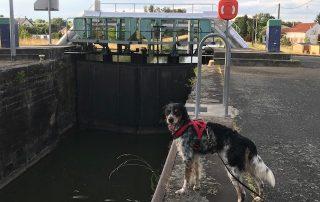 Schiffsschleuse am Saar-Kohle-Kanal